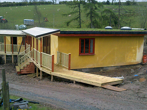 Sa Carpentry Design And Construction Of Straw Bale And